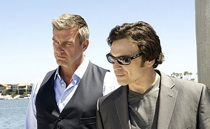 promo pic of Ray Stevenson in season 7 of Dexter